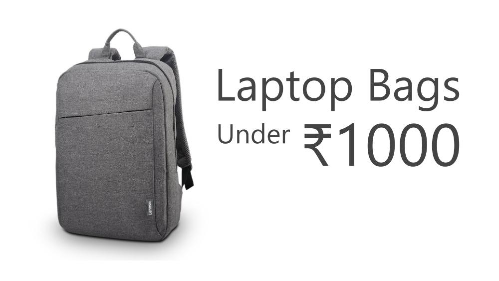Best Laptop Backpacks Under 1000