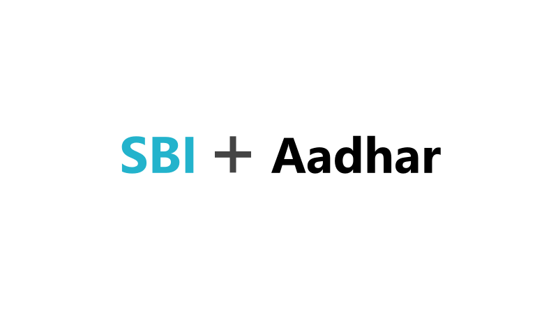 Link Aadhar With SBI Bank